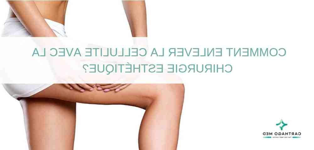 Eliminer la cellulite des cuisses